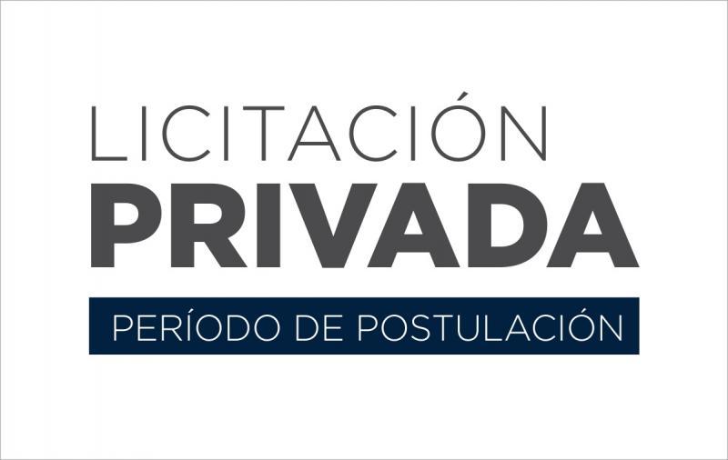 Período de postulación a Licitación Privada