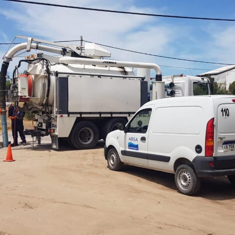 ABSA continúa con los trabajos para recuperar el servicio en Villa Gesell