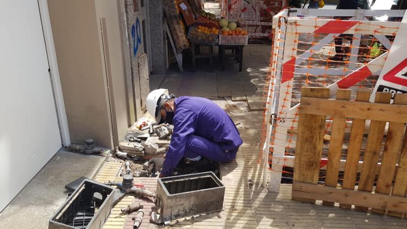 ABSA continúa con los trabajos de mantenimiento de redes en la Región