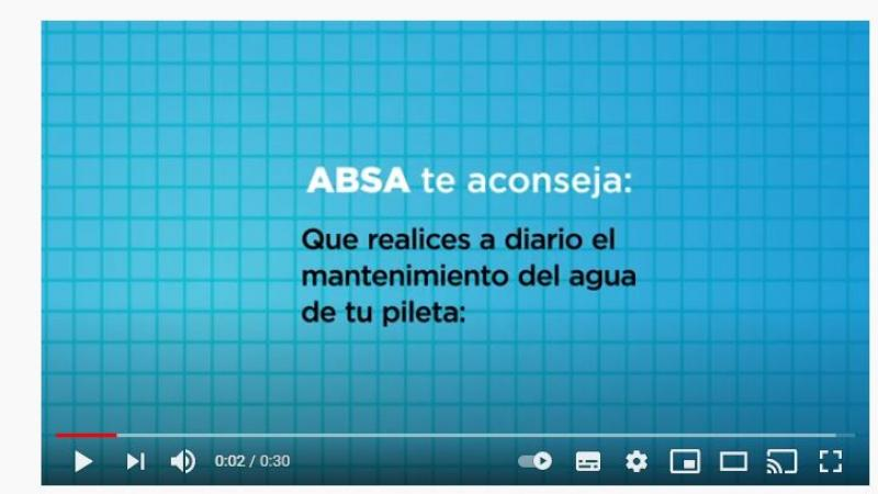 ABSA recomienda el uso solidario y responsable del agua