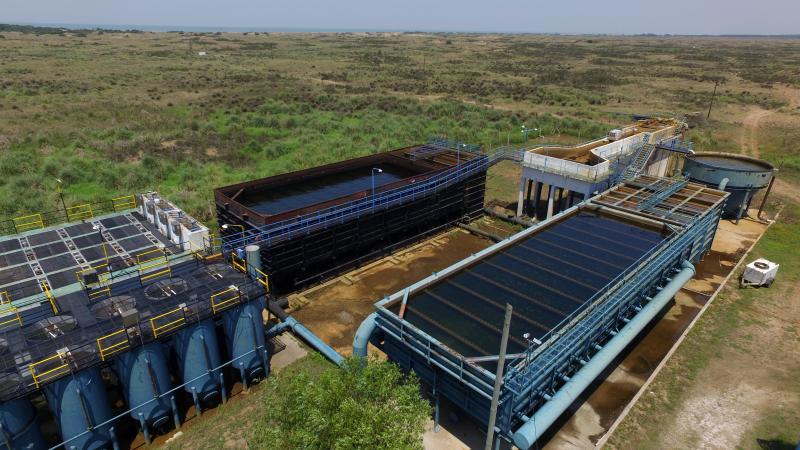 Nueva Atlantis: se reduce la presión de la red para preservar el suministro