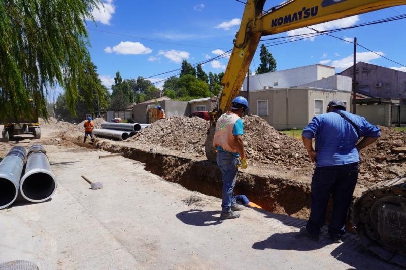 Bahía Blanca: continúan las acciones para mejorar el servicio de agua potable