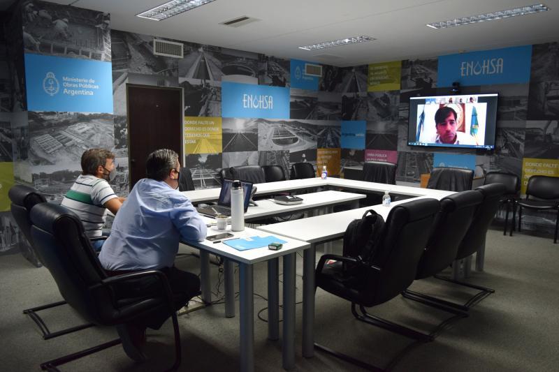 El ENOHSA y ABSA acuerdan obras de saneamiento para Los Toldos