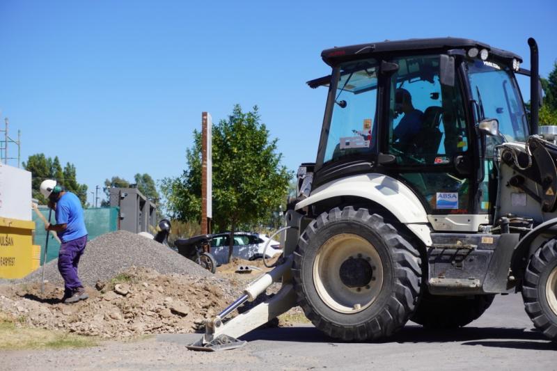 ABSA realiza mantenimiento en la Región Capital y Bahía Blanca