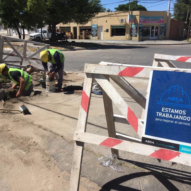 ABSA refuerza tareas de mantenimiento en La Plata, Berisso y Ensenada