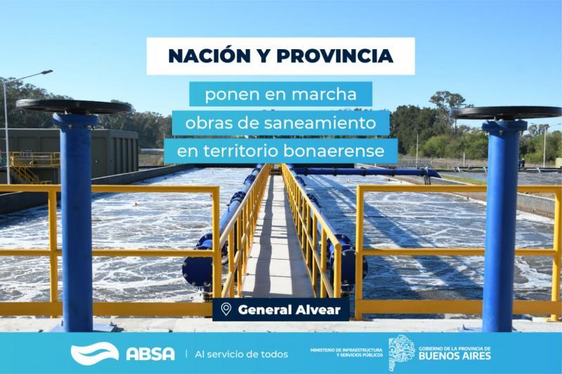 Con una inversión de $80 millones, ABSA acondicionará y pondrá en valor la Planta Depuradora Cloacal en General Alvear