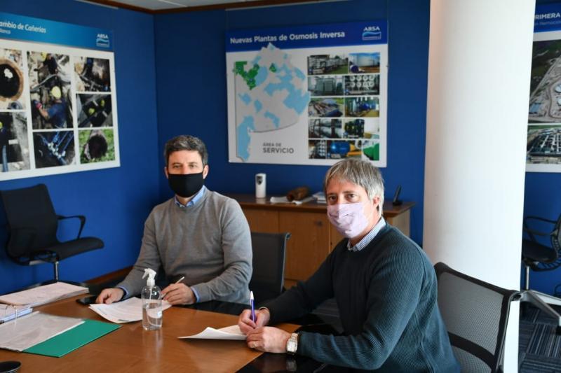 ABSA regulariza la ampliación de la red de desagües cloacales en Carmen de Patagones