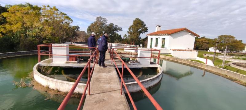 ABSA brindó asistencia técnica en la Planta Potabilizadora de la Isla Martín García
