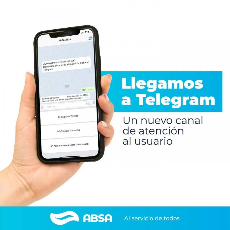 Sumate a Telegram, nuestro nuevo canal de atención para usuarios