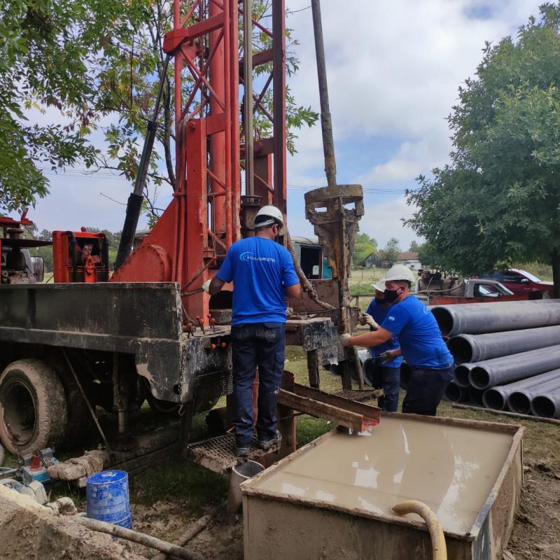 Dos nuevas perforaciones para la red de agua de San Vicente