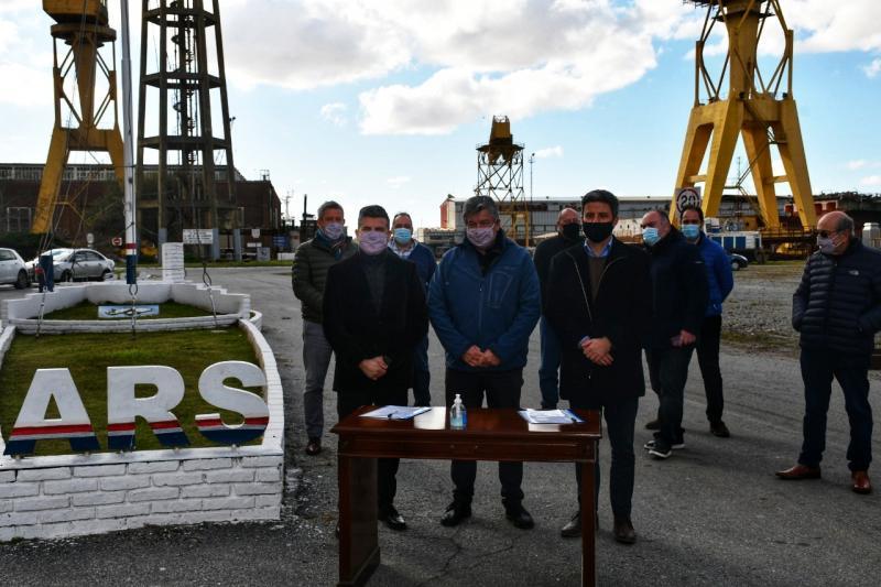 ABSA y Astillero Río Santiago celebraron convenio marco de cooperación