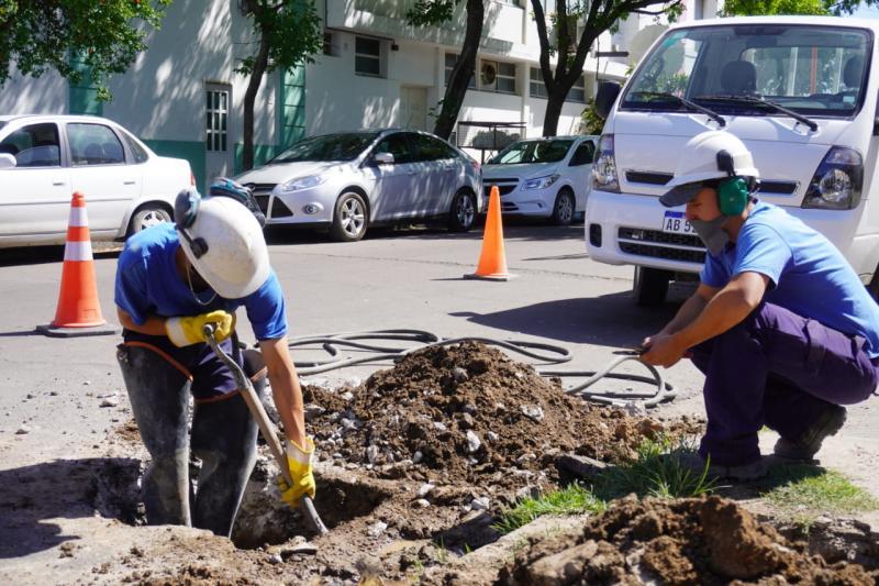 Seguimos trabajando en el mantenimiento de redes en la Región