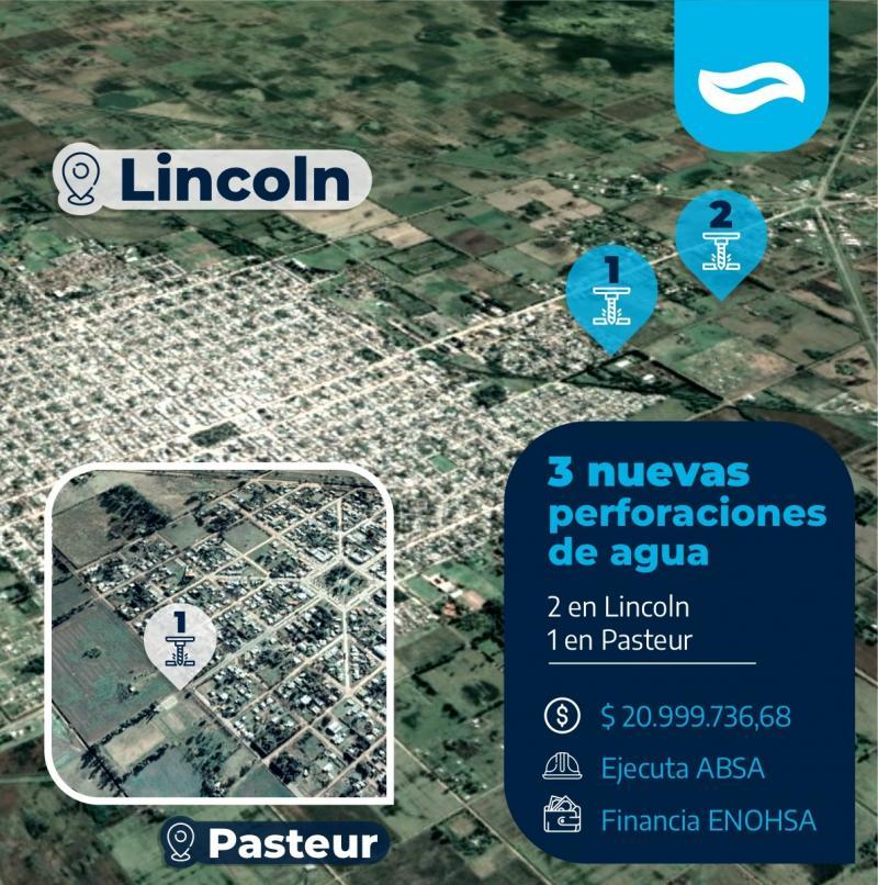 ABSA invierte más de 20 millones de pesos en el partido de Lincoln