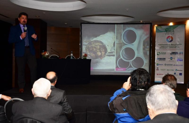 ABSA expuso su plan de obras en el seminario del CEMA