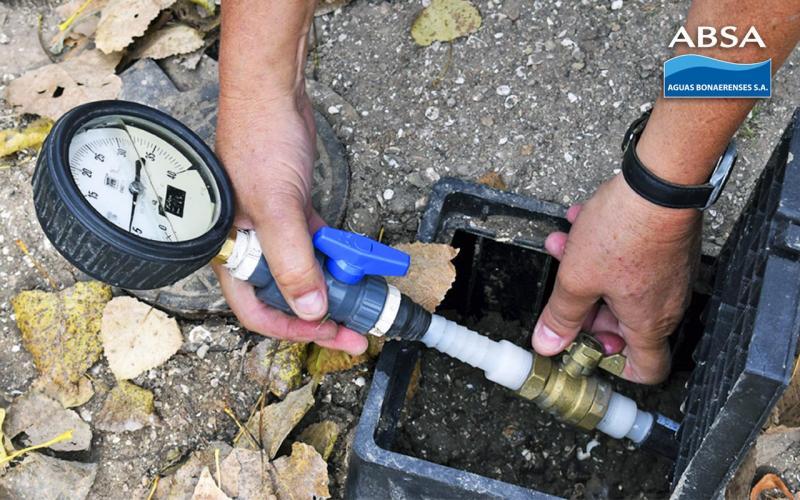 Agua  superficial y optimización en la red de Villa Castells y Gonnet