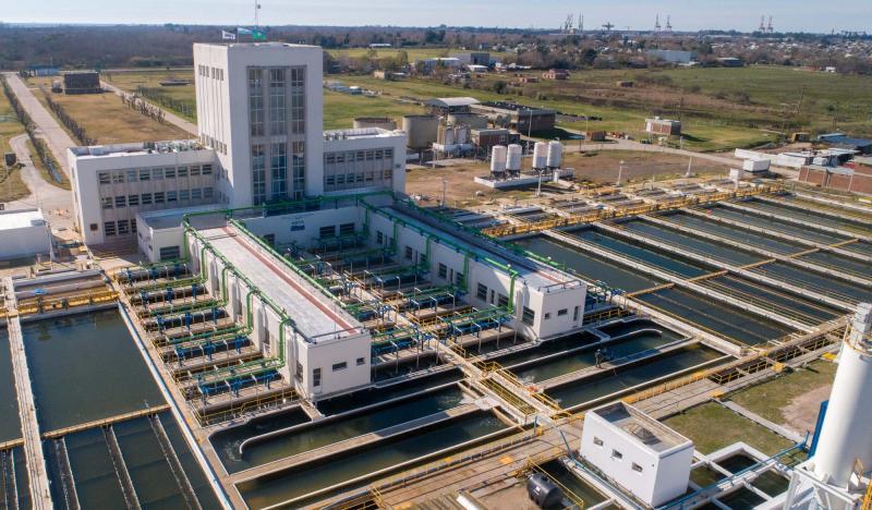 La Plata - Tareas programadas en la Planta Potabilizadora de Punta Lara