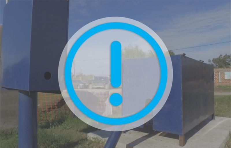 La falta de energía genera inconvenientes en el servicio de agua de Arturo Seguí