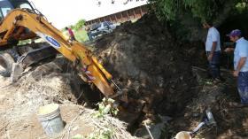 Hilario Ascasubi: Quedó reparada la avería sobre el acueducto Luro-Ascasubi