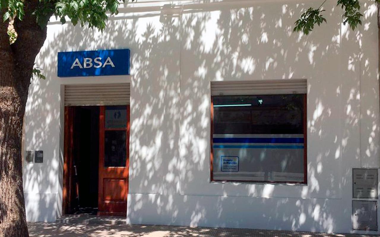 ABSA inaugura el próximo lunes su nueva oficina comercial en Suipacha
