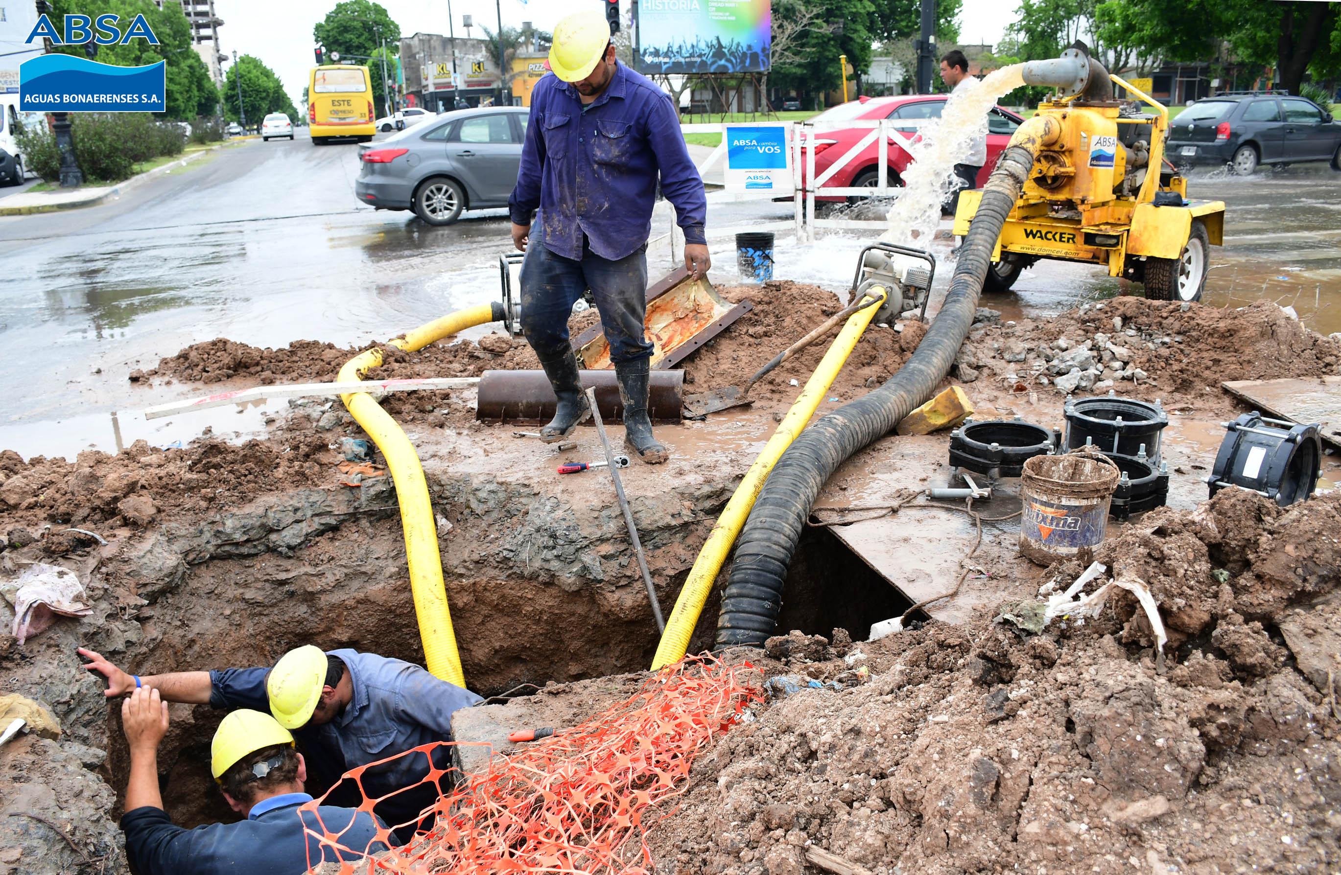 Por las tormentas se registran inconvenientes en el servicio de agua de la Región